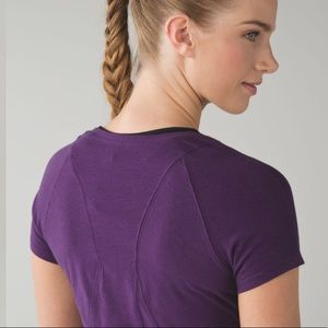 Lululemon • Let Be short sleeve tee
